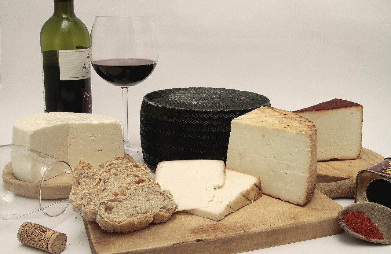 Wine and cheese in Vietnam