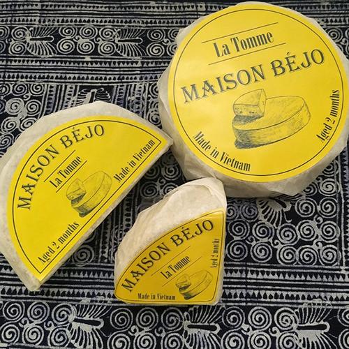 Maison Béjo cheese of Vietnam
