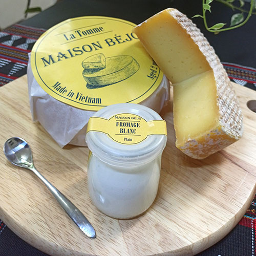 Maison Béjo, cheese made in Vietnam