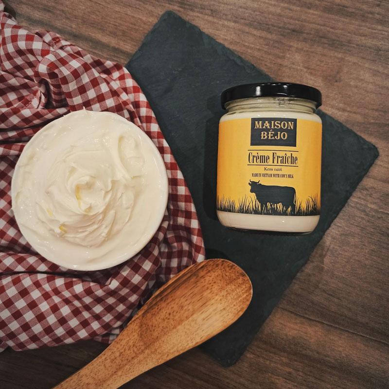 Crème fraîche from Maison Béjo
