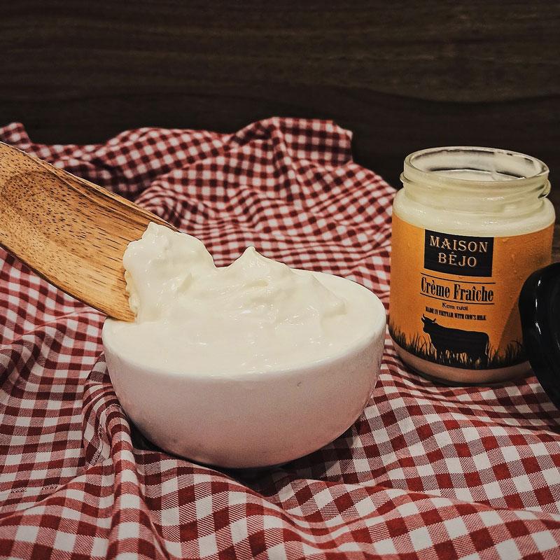 Crème fraîche Maison Béjo